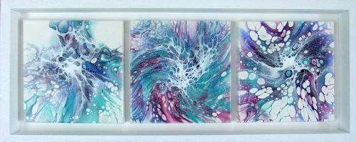 Maelstrom Triptych by Ruth Coulson