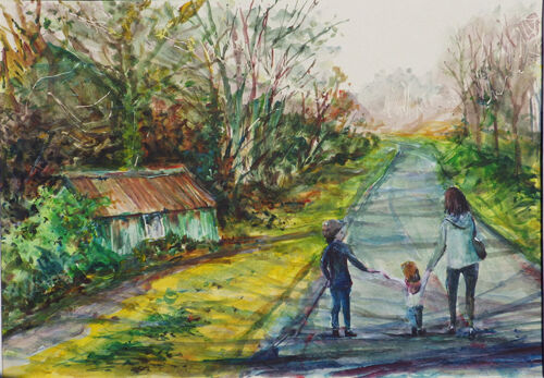 Middle Mill scene