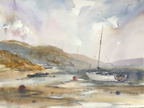 SOLD Moorings up the river by Alison Hemingway