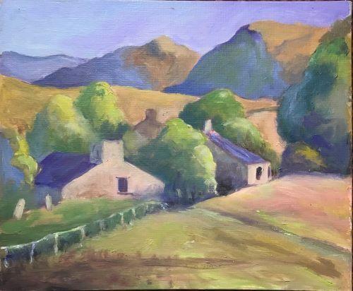 Near Tregaron by Alison Hemingway