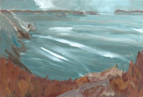 November, towards Ramsey Sound by Nicola Schoenenberger