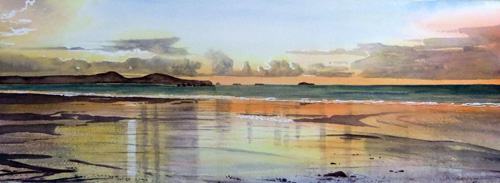 Reflections, Whitesands by Ruth Coulson