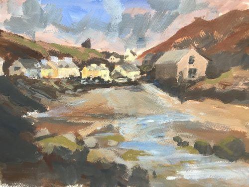 Rising Tide, Abercastle by Alison Hemingway
