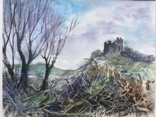 Roch Castle by Alison Hemingway