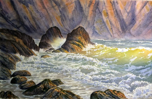 Rocky Inlet by Ruth Coulson