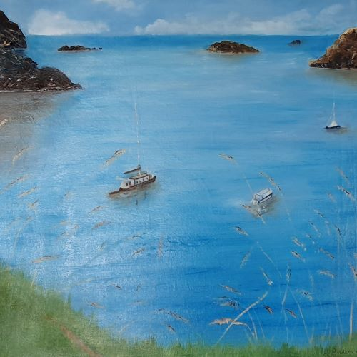 Solva Coastal walk by June Anderson