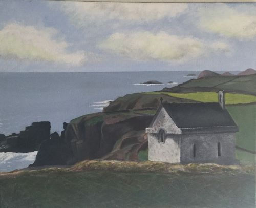 St Non's Chapel by Marian Jones