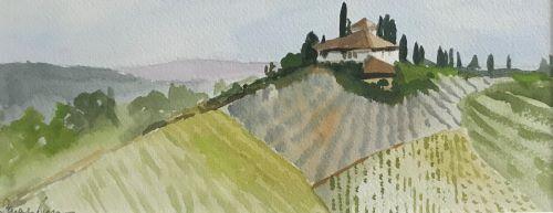 Tuscany 1 by Sarah Burns