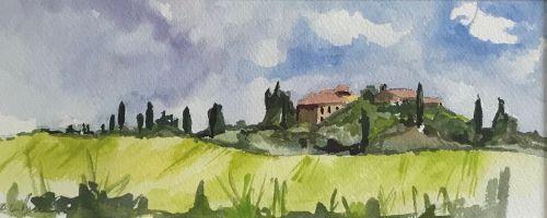 Tuscany 2 by Sarah Burns