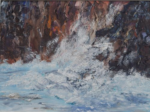 Wave Action by Maggie Humble