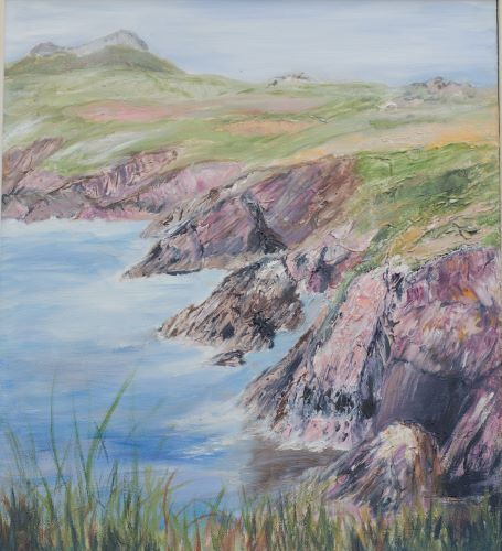 Coast near St Justinian's by Maggie Humble