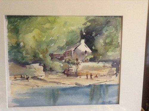Cottage, Cwm yr Eglwys by Alison Hemingway