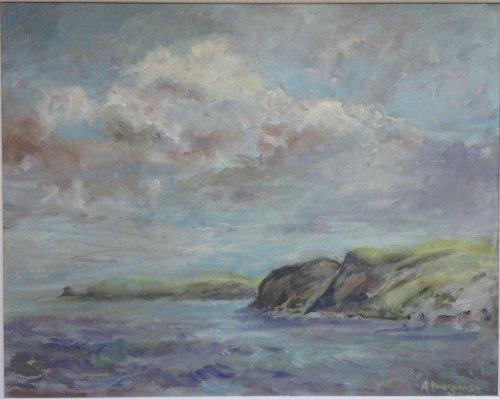 Druidston cliffs by Alison Hemingway