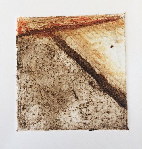 Landscape Study in brown by Nicola Schoenenberger