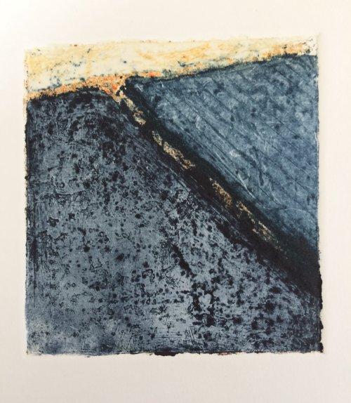 Landscape Study in blue by Nicola Schoenenberger