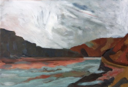 Low Tide, Solva by Nicola Schoenenberger