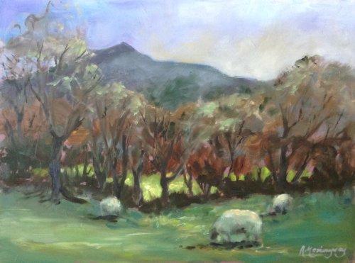 Carn Ingli from Nevern by Alison Hemingway