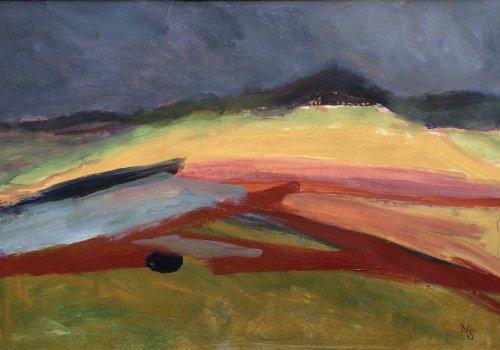 Dark Sky, Carn Llidi by Nicola Schoenenberger