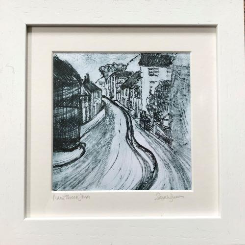 Main Street, Lower Solva by Sarah Burns