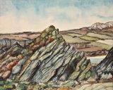 Ancient Rocks Porthselau By Dave Sims