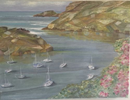 SOLD Solva Harbour by Marian Jones