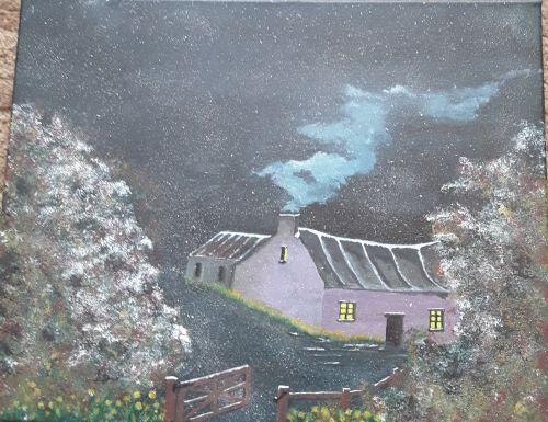 Winter Scene by tony Hughes