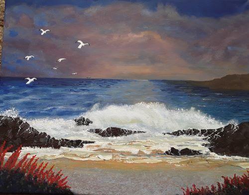 Seascape by Tony Hughes