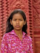Girl in Mauve, Phnom Penh