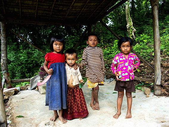 Children of Phnom Udong