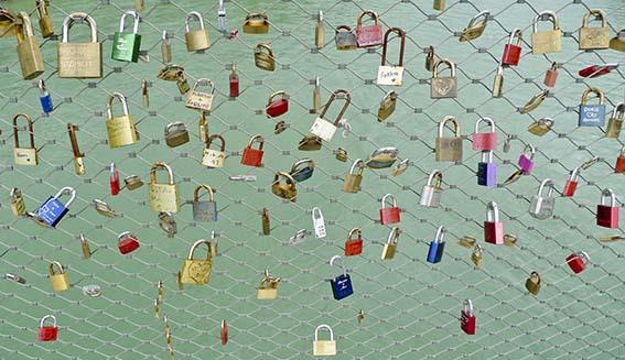 Love Locks, Salzburg