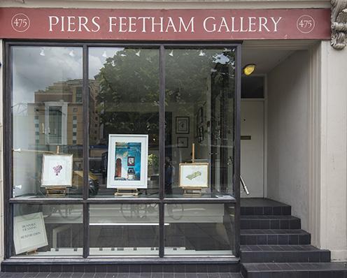 Piers Feetham Gallery, Fulham London