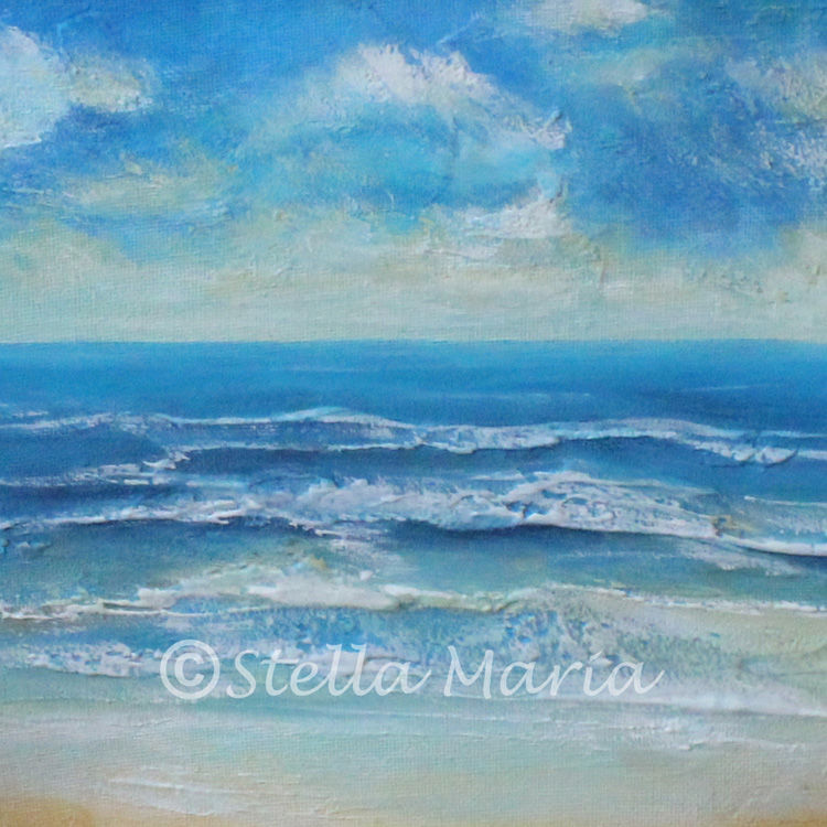 deep serenity by stella maria art acrylic painting
