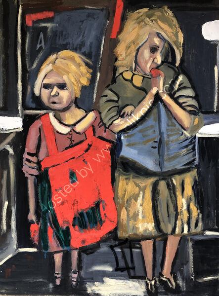 Study after Joan Eardley Glasgow Children