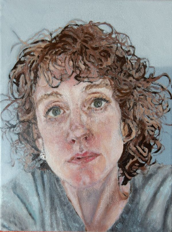 Annie portrait commission in oils by Stella Tooth PORTRAIT ART FIGURATIVE ART REPRESENTATIONAL ART