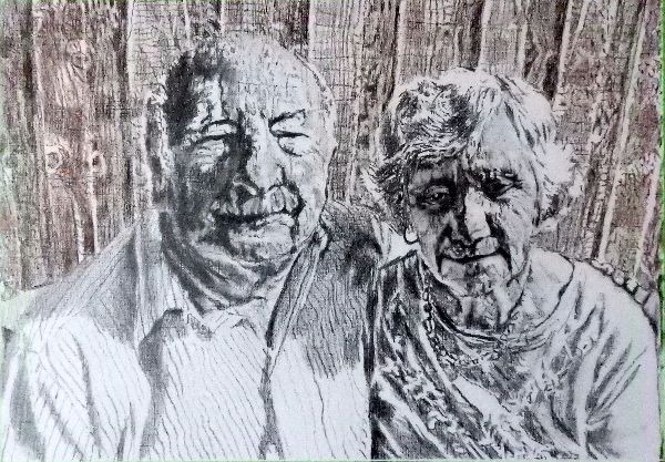 Beryl and David Tooth drawing NFS