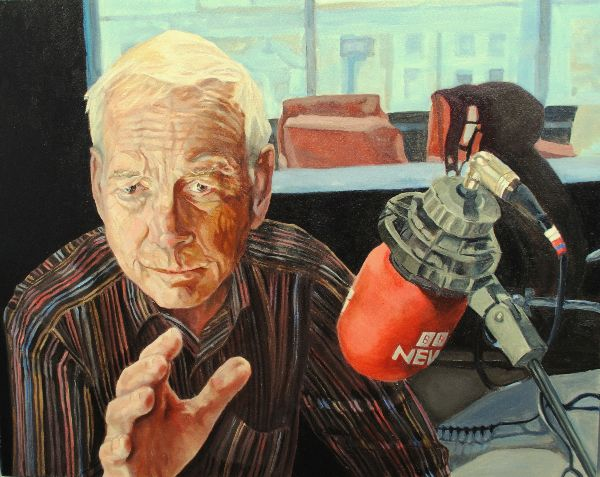 Portrait John Humphrys ex Presenter BBC R4 Today by Stella Tooth