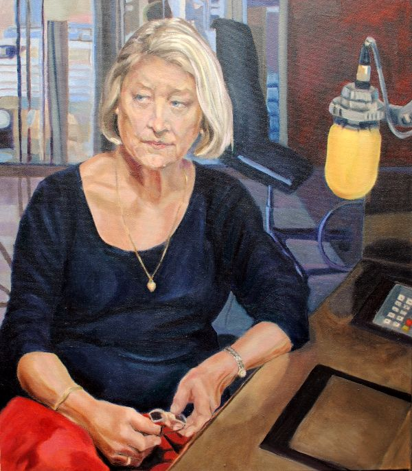 Portrait Kate Adie Presenter BBC R4 From Our Own Correspondent by Stella Tooth
