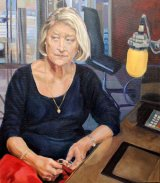 Kate Adie Presenter BBC R4 From Our Own Correspondent oils