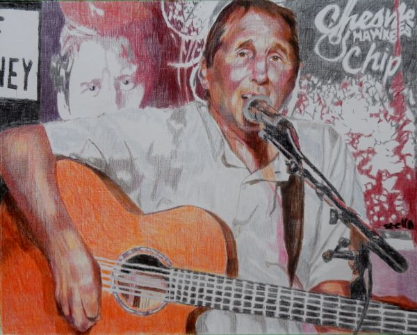 Chip Hawkes Tremeloes & son Chesney Hawkes drawing