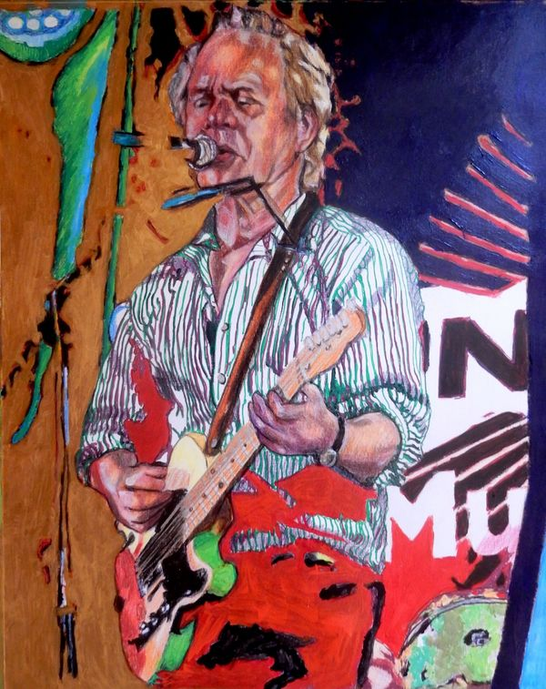Chris Jagger drawing 40x50cms