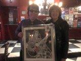 Dave Collison aka Roy Orbison, portrait & Stella Tooth