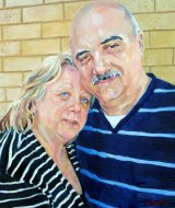 Denise & Alex Zimbardi oils NFS