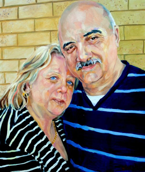 Denise and Alex Zimbardi oils NFS