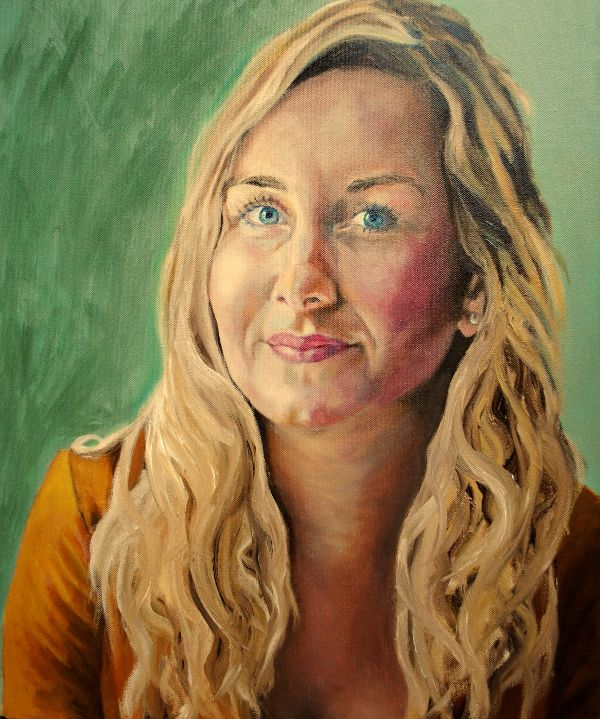 Eleanor Gibson oils COMMISSION