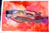 Nude drawing - colour
