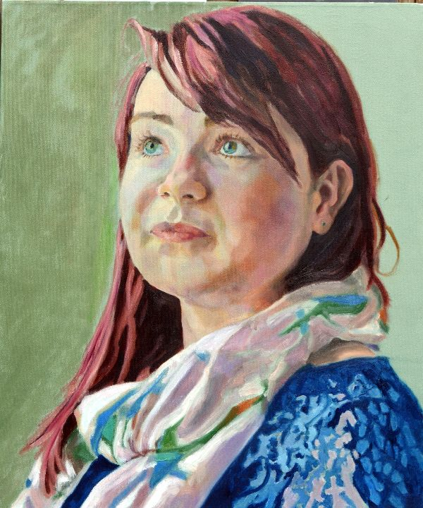Florence Gibson oils COMMISSION