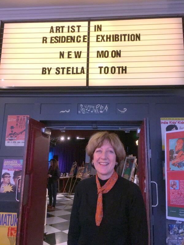 Stella Tooth Resident Artist Half Moon Putney exhibition