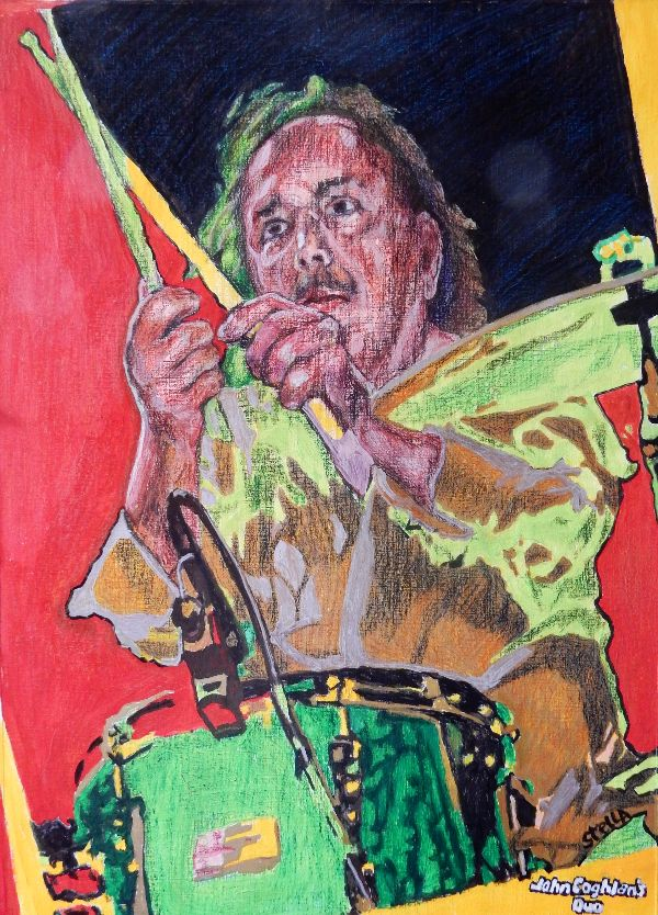 John Coghlan's Quo drawing