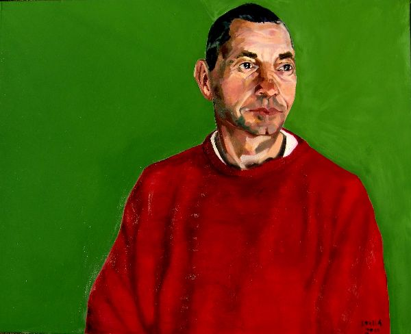 Martin Le Jeune portrait commission by Stella Tooth PORTRAIT ART FIGURATIVE ART REPRESENTATIONAL ART