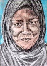Nadiya Hussain drawing
